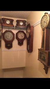 Key wind clocks ,, some Pequegnat Regina Regina Area image 10