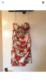 Woman's floral dress size 8