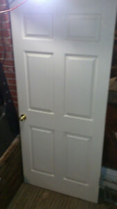 new doors for sale comes with hinge and knobs London Ontario image 2
