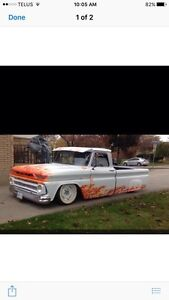 65 GMC SHORTBOX- 10,000 or trade for Harley