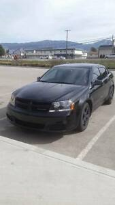 2014 Black Top Dodge Avenger