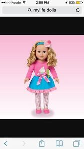 Looking for Barbie house and MyLife dolls