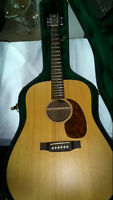 Guitare Acoustique Martin custom D avec Fishman Matrix spruce +