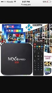 MXQ PRO! 4K 1000s tv and movies
