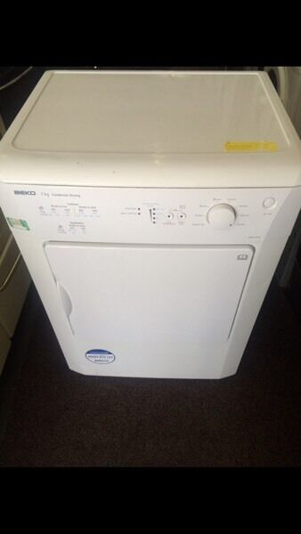White beko 60kg dryers good condition with guarantee bargain