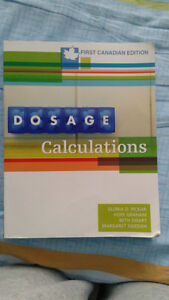Dosage Calculations 1st Canadian Edition
