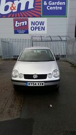 Volkswagen polo 2004 5 door and 54 5 door (choice of 2)