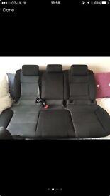 2013 Audi A3 8P back seats