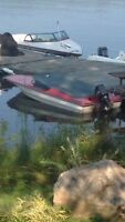 1977 Mercury 70 hp outboard on a 15ft Cricket ski/speed boat.