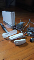 Wii Console with Controller
