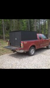 Perfect for hunting fully insulated truck camper