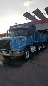 2002 Volvo Tri Axle Dump truck certified and etested