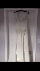 Wedding Dress - Size 1-2 Kitchener / Waterloo Kitchener Area image 2