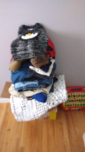 Boys clothing 18-24 months and toys