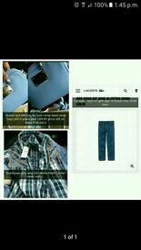 Michael Kors Handbag, Lacoste Chinos and Ralph Lauren Shirt For Sale