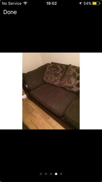 Brown sofa £50