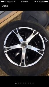 5 bolt summer tires and rims