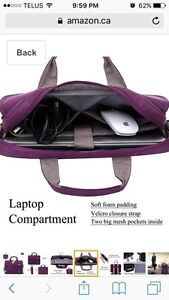 Laptop bag.  Brand new. 13 inch.  West Island Greater Montréal image 6