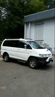 1998 Delica Spacegear L400 2nd Gen Exceed II Crystal Lite Roof