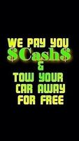 WE PAY TOP MONEY FOR SCRAP VEHICLES