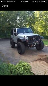 2009 lifted jeep wrangler