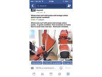 Silvercross Surf and maxi cosi car seat
