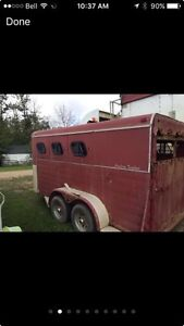 3 horse trailer  Prince George British Columbia image 2