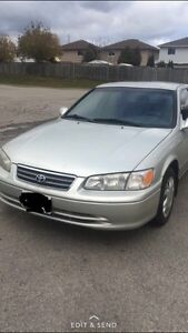 2001 TOYOTA CAMRY 4 CYL - ETESTED - HIGHWAY KM