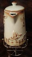 """McCoy Pottery """"El Rancho""""  vintage coffee pot"""
