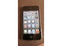 Black Apple iPod Touch 4th Generation 8gb Fully Working Good Condition Can Deliver