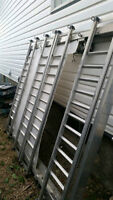 Quad deck ,all aluminum with winch