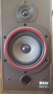 Bowers & Wilkins DM110 speakers