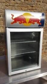 Redbull drinks fridge