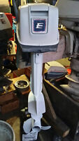 Evinrude 9.9 hp 2 stroke short shaft outboard motor with tank