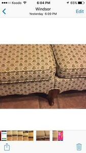 NEWLY  RE-UPHOLSTERED COUCH   Windsor Region Ontario image 4