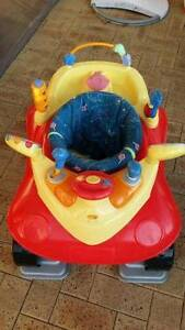 Exersaucer - Red Car Activity Station- Bouncer Ocean Reef Joondalup Area Preview