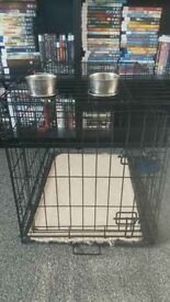 Small dog cage £15