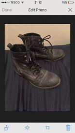 Next size 2 navy boots