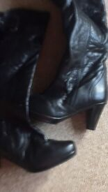 Size 6 leather boots