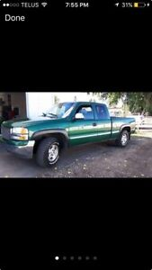1999 Gmc 1500 SLE extended  cab
