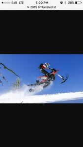 Snowbike Rentals  Timbersled and Yeti
