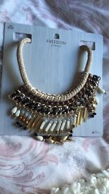 Brand new statement necklace from topshop