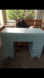 Chalk painted vanity/desk London Ontario image 1