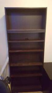 Solid Bookcase - 8 Shelves - Officeworks Meadowbank Ryde Area Preview