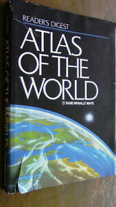 Reader's Digest, Atlas of the World, Rand McNally Maps