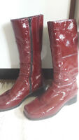 La Canadienne Boots, size 7-1/2, Red