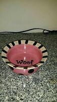 3 ceramic dog bowls