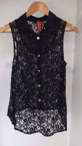 Black lace top Smithfield Cairns City Preview