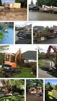 AFFORDABLE LANDSCAPING: Bobcat & Excavation Services