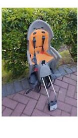 Child's bike seat.